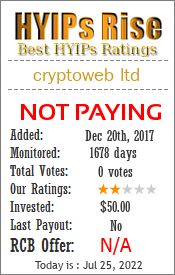 Monitored by hyips-rise.com